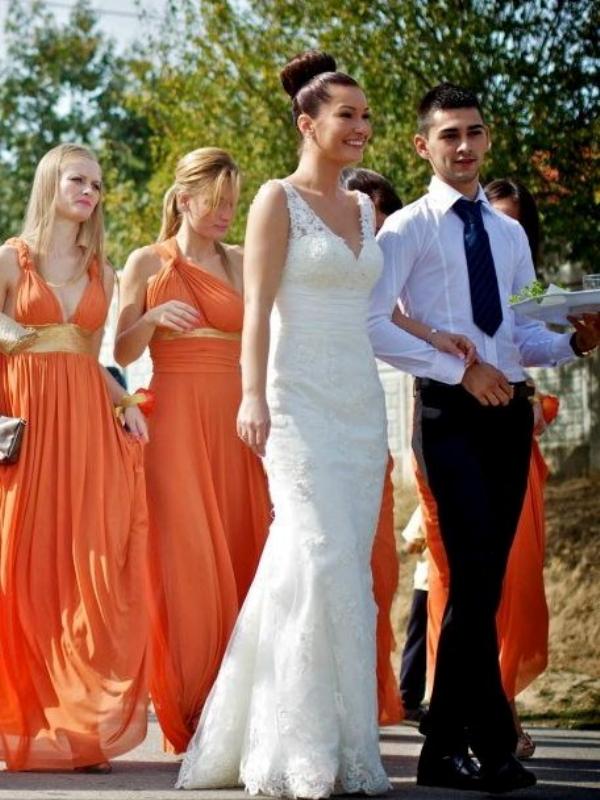 Florina - Mon Cheri Bridal 211268 Verda