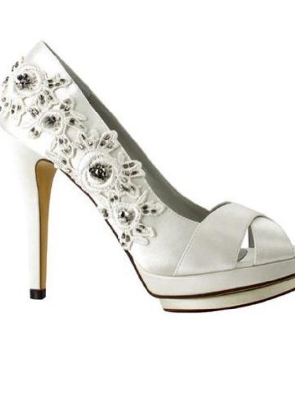 Pantofi De Mireasa Dantela Pantofi De Mireasa Platforma