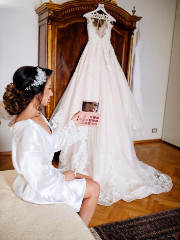 Fanica Filote - rochia LIRIA by Amanda Di Velli